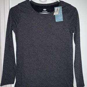 old navy, girl long sleeve blouse, L (10-12) NWT